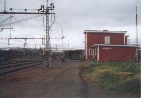 Bahnstation Björnfjell